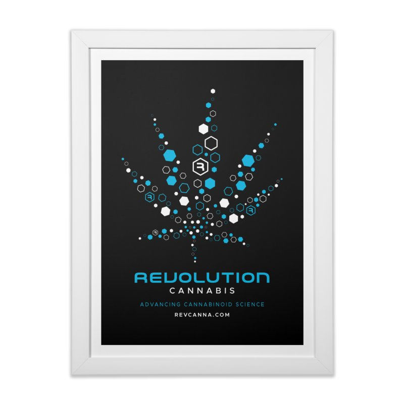 Advancing Cannabinoid Science Home Framed Fine Art Print by RevolutionTradingCo
