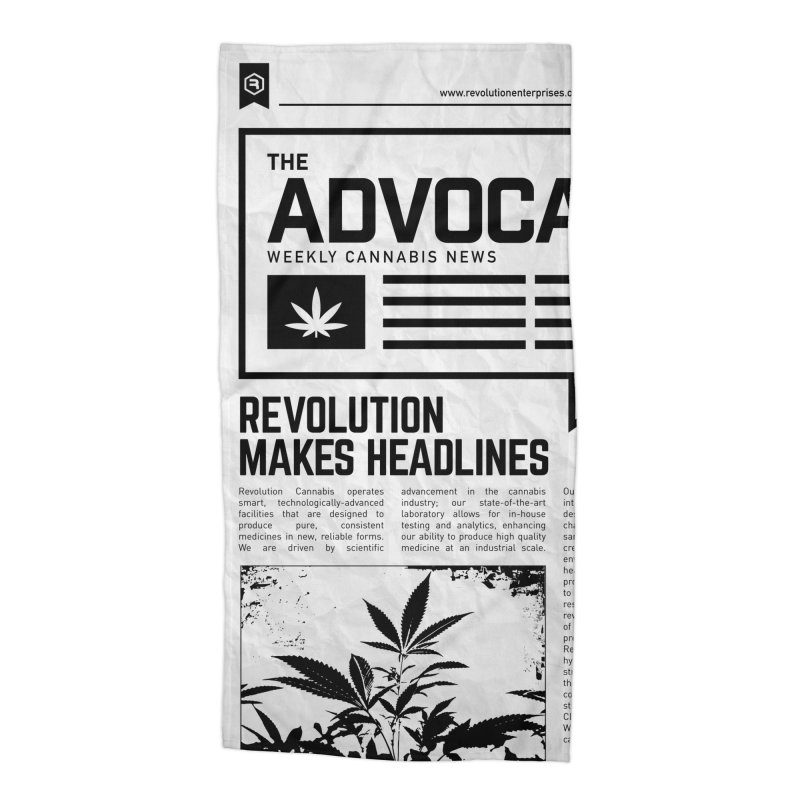 The Advocate Accessories Beach Towel by RevolutionTradingCo