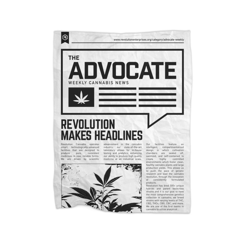The Advocate Home Fleece Blanket Blanket by RevolutionTradingCo