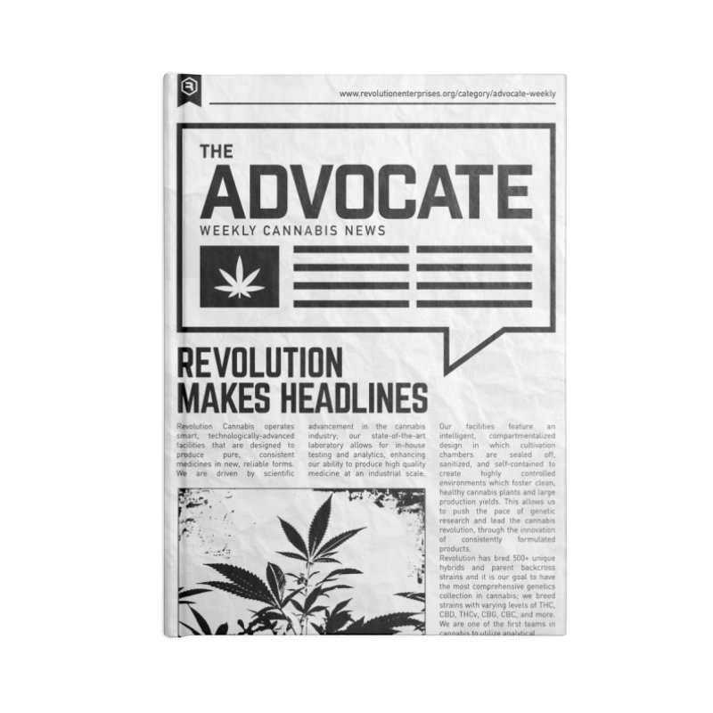 The Advocate Accessories Notebook by RevolutionTradingCo