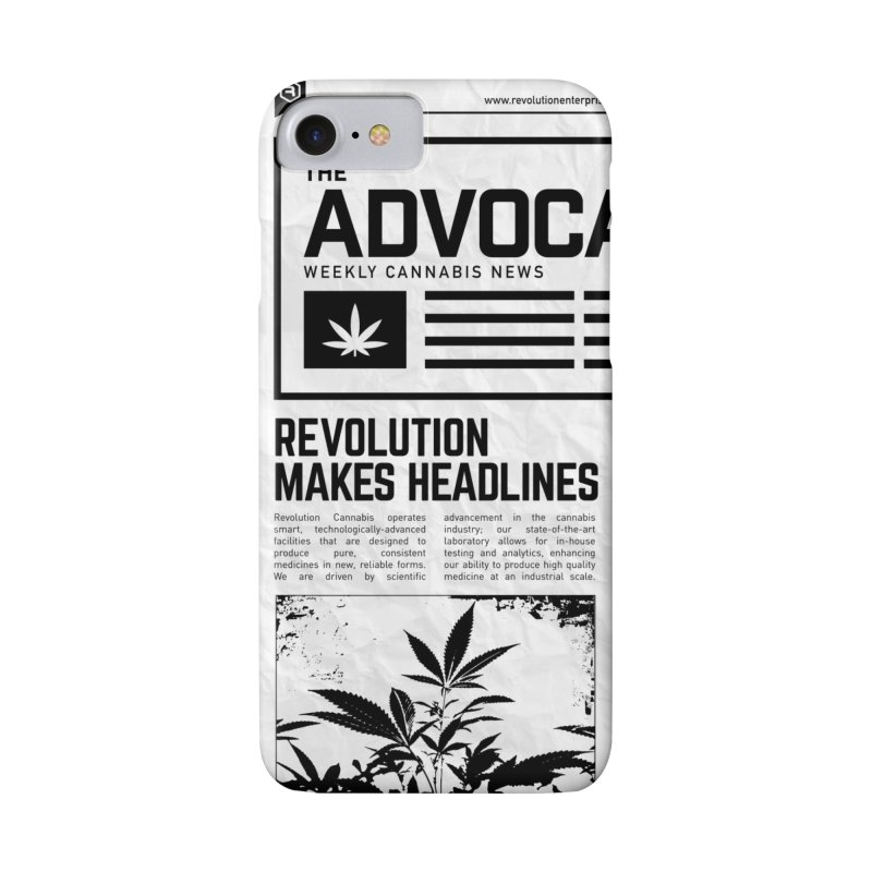 The Advocate in iPhone 8 Phone Case Slim by RevolutionTradingCo