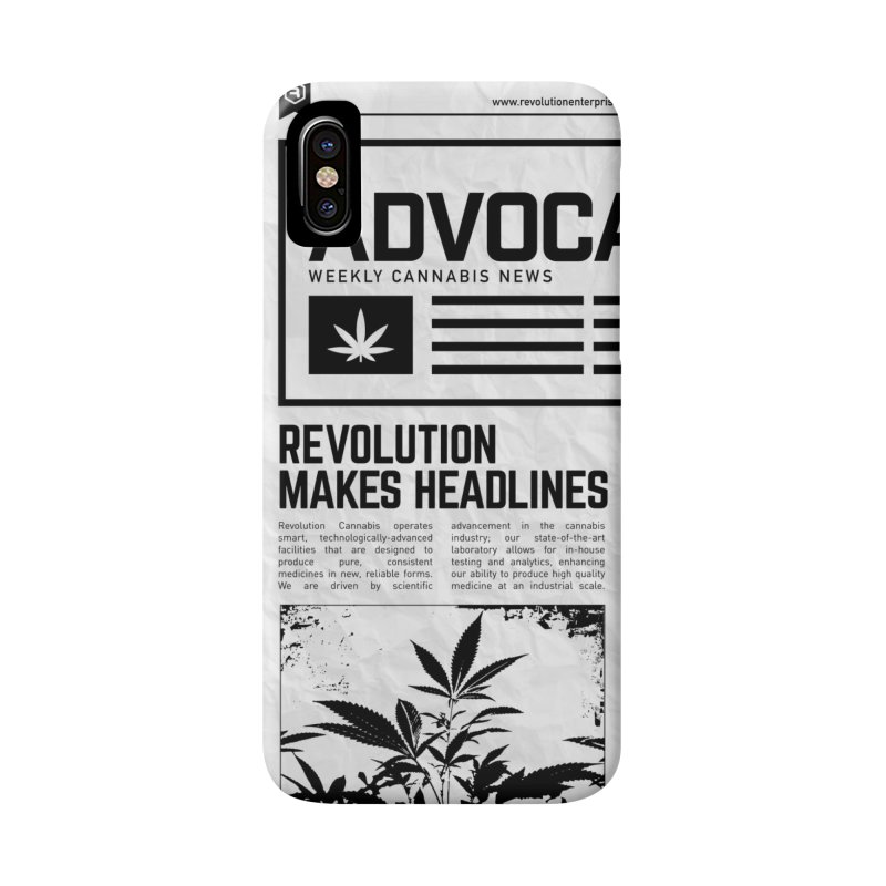 The Advocate Accessories Phone Case by RevolutionTradingCo