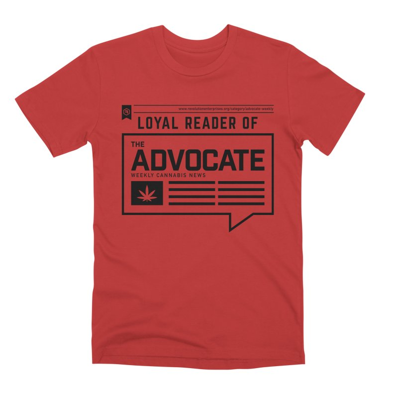 The Advocate Men's Premium T-Shirt by RevolutionTradingCo