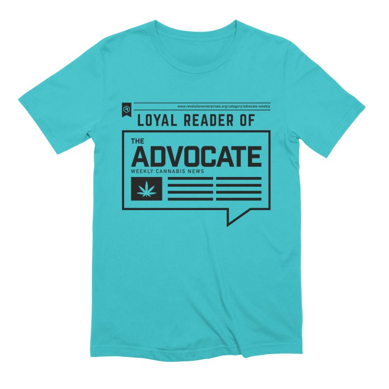 The Advocate in Men's Extra Soft T-Shirt Pacific Blue by RevolutionTradingCo