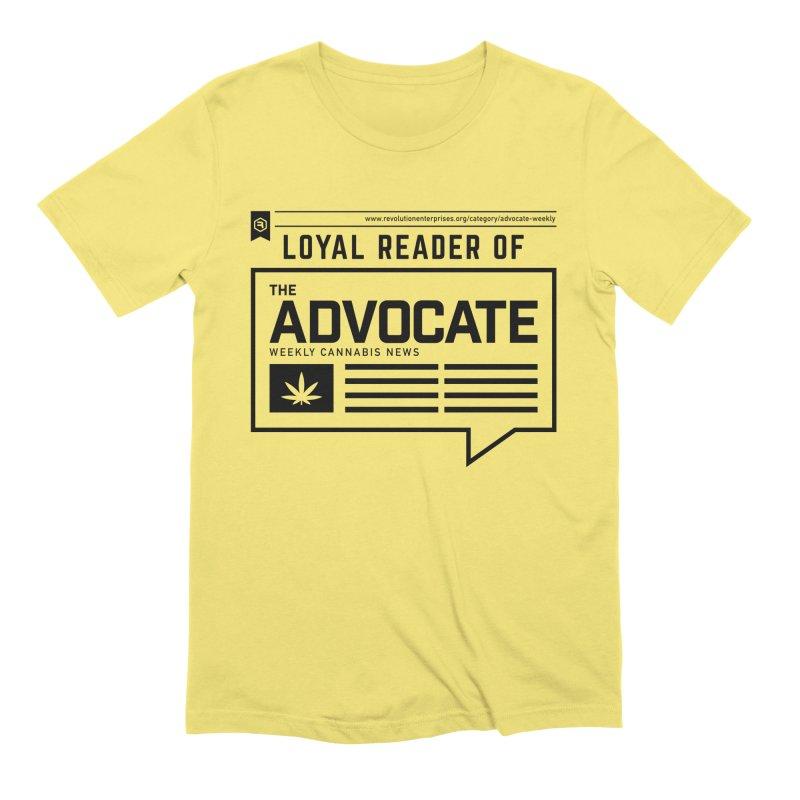 The Advocate Men's Extra Soft T-Shirt by RevolutionTradingCo