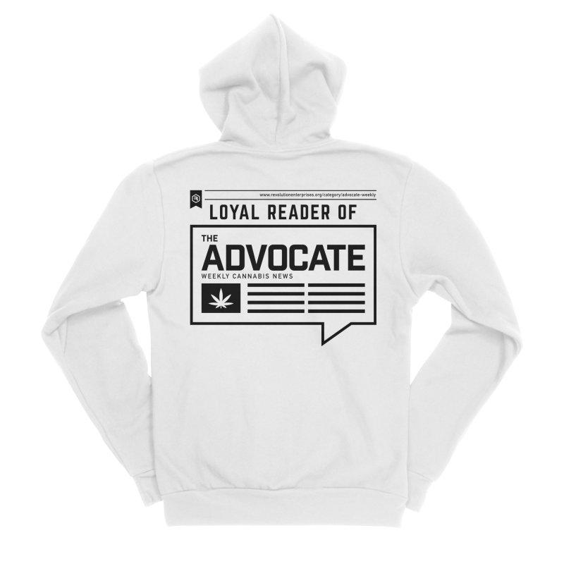 The Advocate Men's Sponge Fleece Zip-Up Hoody by RevolutionTradingCo