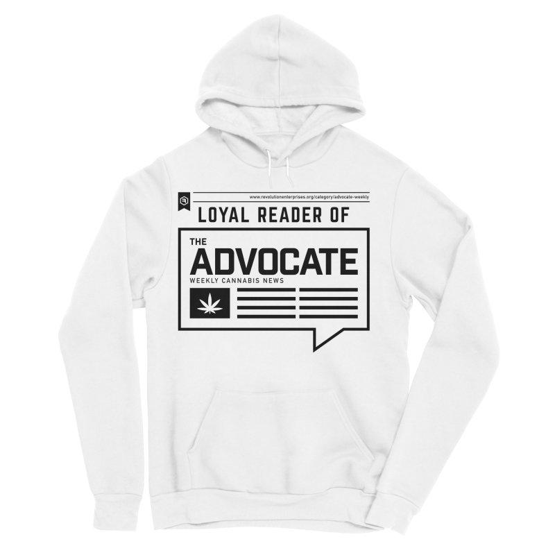 The Advocate Women's Sponge Fleece Pullover Hoody by RevolutionTradingCo