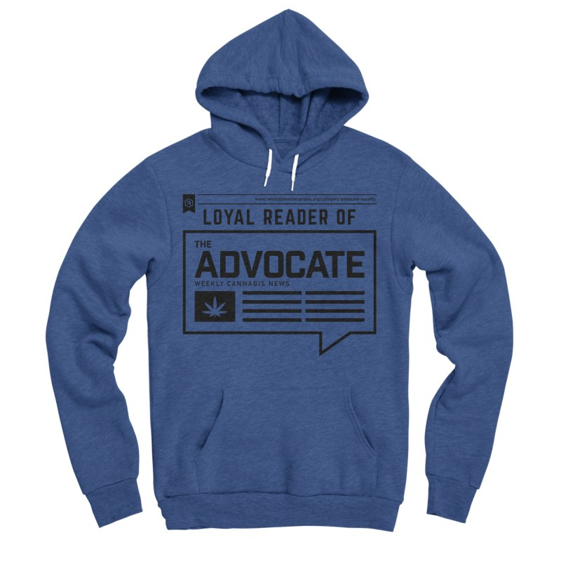 The Advocate Men's Sponge Fleece Pullover Hoody by RevolutionTradingCo