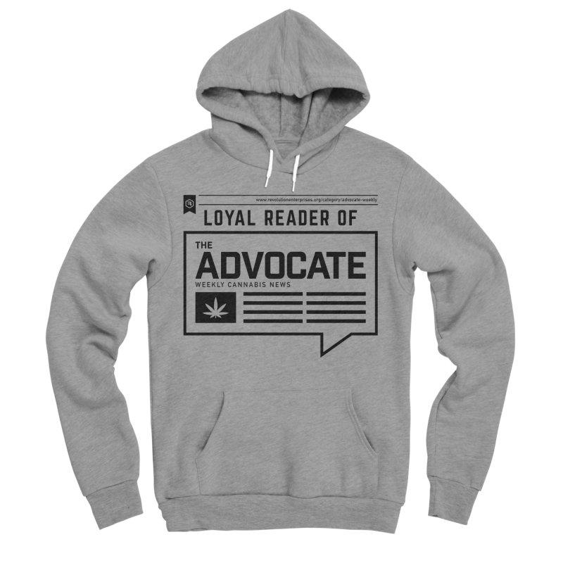 The Advocate Men's Sponge Fleece Pullover Hoody by RevolutionTradingCo