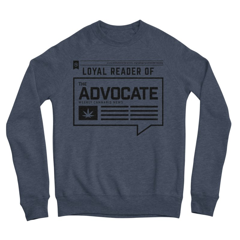 The Advocate Men's Sponge Fleece Sweatshirt by RevolutionTradingCo