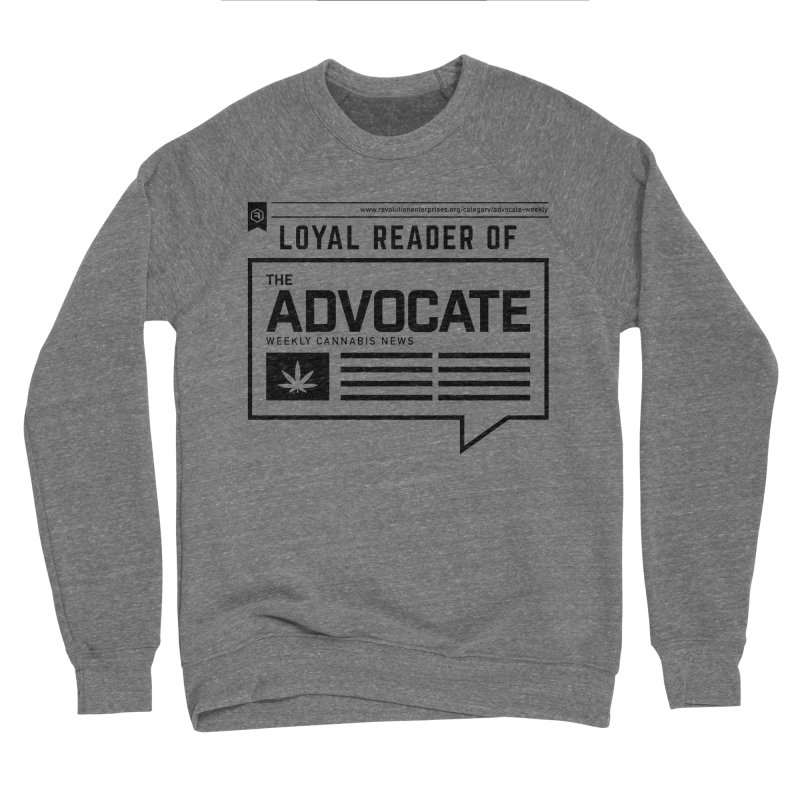 The Advocate Women's Sponge Fleece Sweatshirt by RevolutionTradingCo