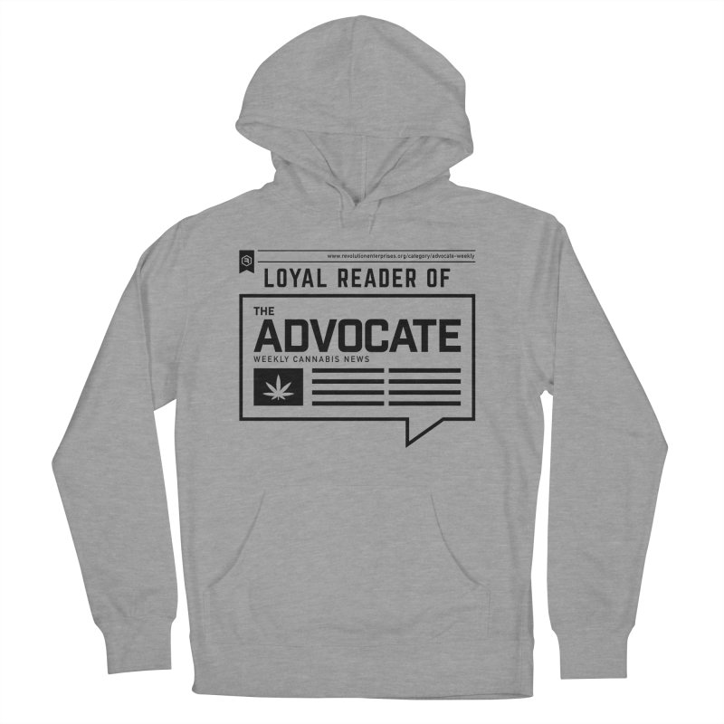 The Advocate Men's French Terry Pullover Hoody by RevolutionTradingCo