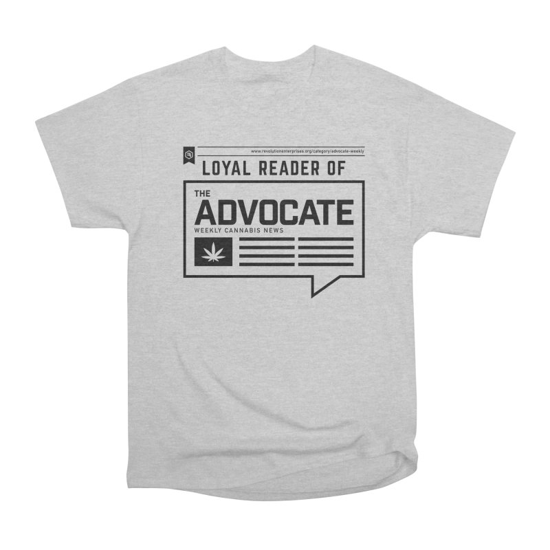 The Advocate Women's Heavyweight Unisex T-Shirt by RevolutionTradingCo