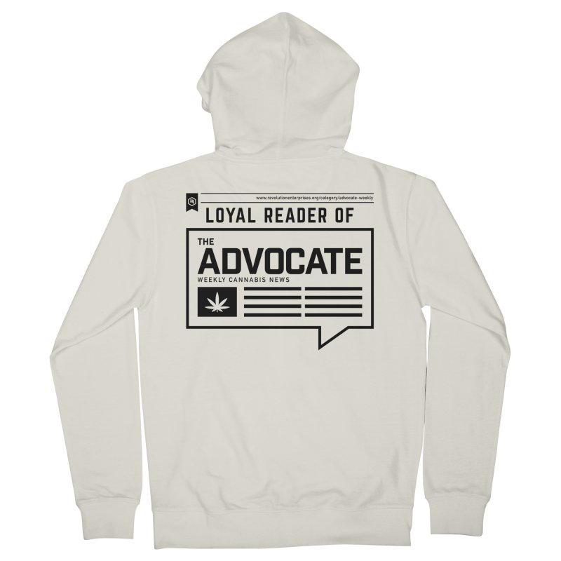 The Advocate Women's French Terry Zip-Up Hoody by RevolutionTradingCo