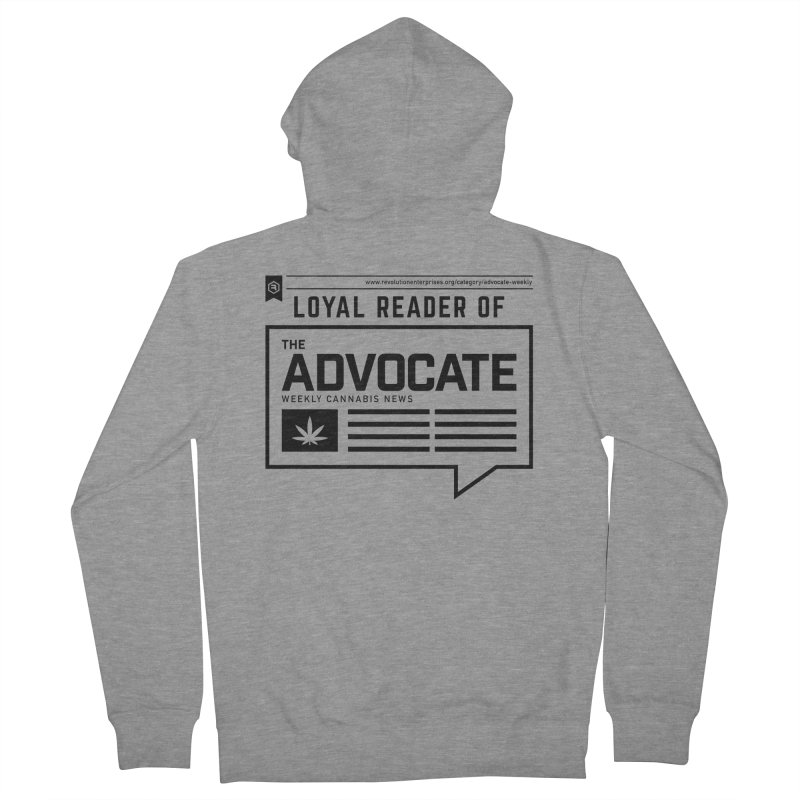 The Advocate Men's French Terry Zip-Up Hoody by RevolutionTradingCo