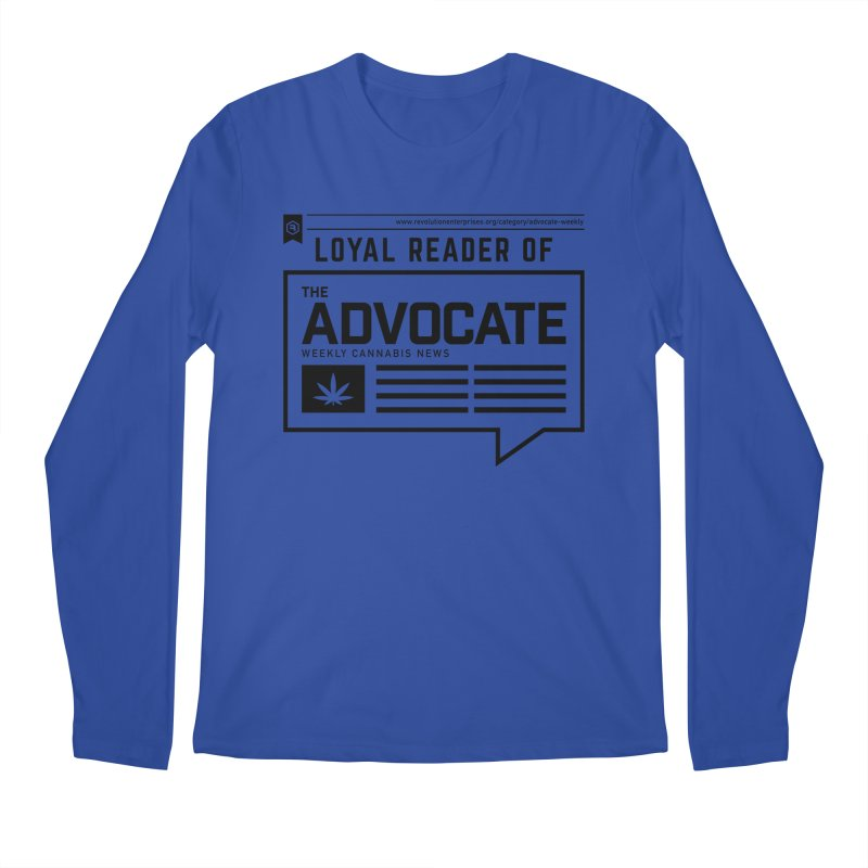 The Advocate Men's Regular Longsleeve T-Shirt by RevolutionTradingCo