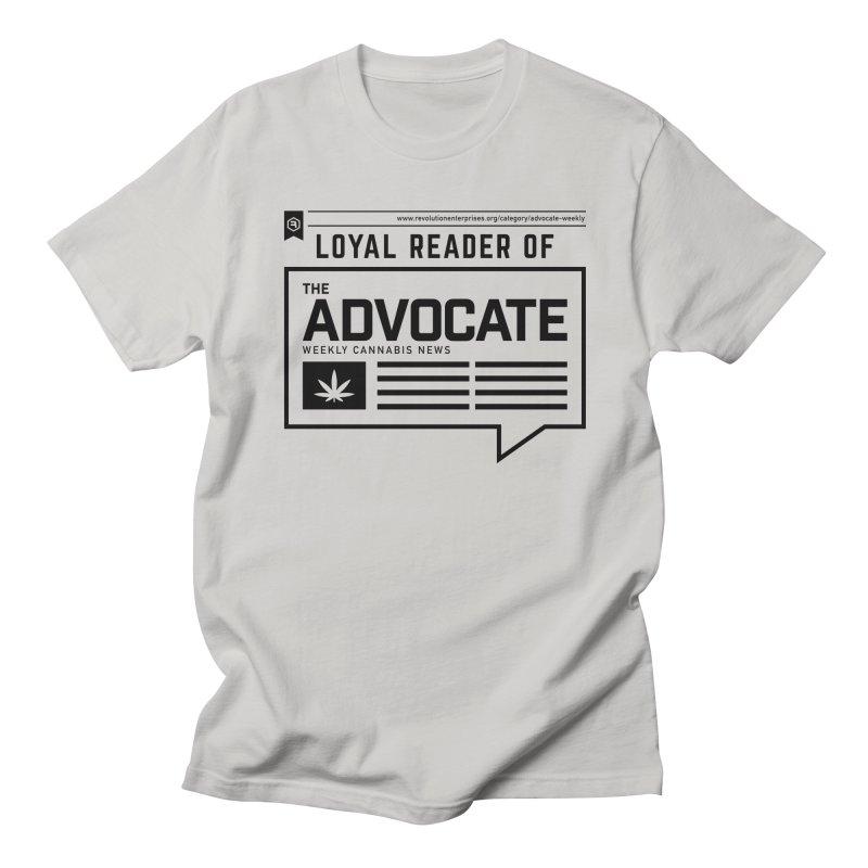 The Advocate Men's Regular T-Shirt by RevolutionTradingCo