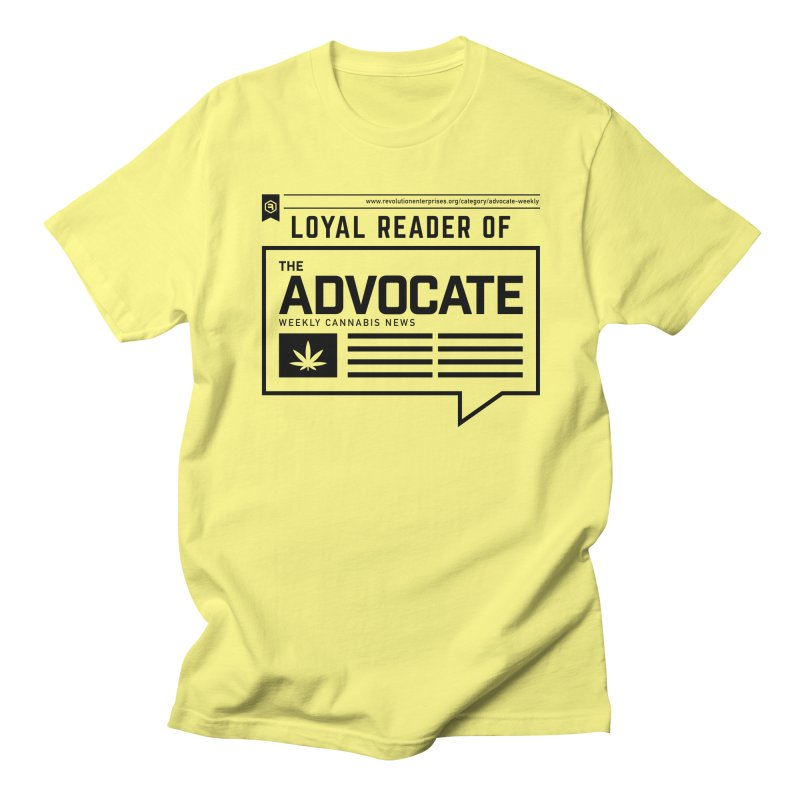 The Advocate Men's Regular T-Shirt by RevolutionTradingCo