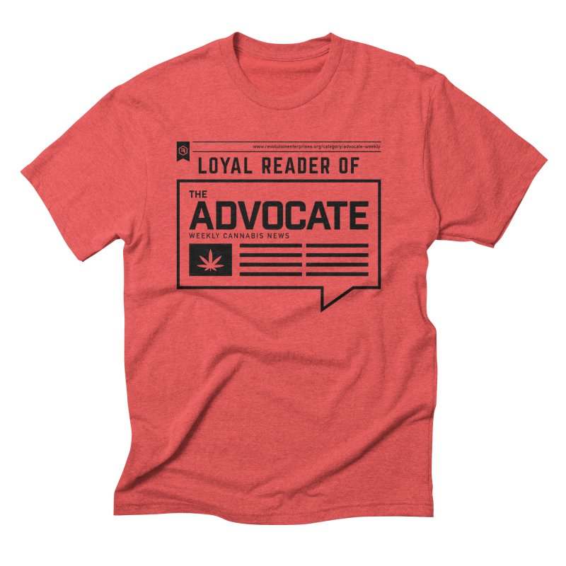 The Advocate Men's Triblend T-Shirt by RevolutionTradingCo
