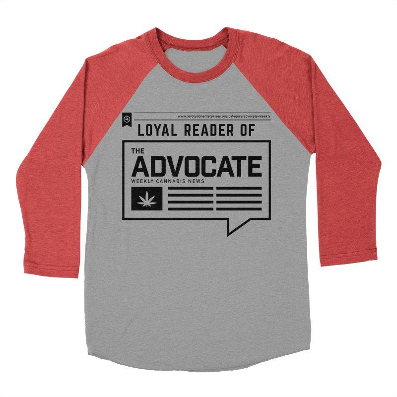 The Advocate Women's Baseball Triblend Longsleeve T-Shirt by RevolutionTradingCo