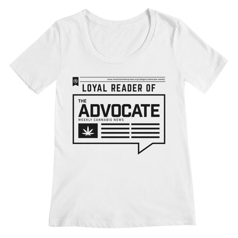 The Advocate Women's Regular Scoop Neck by RevolutionTradingCo