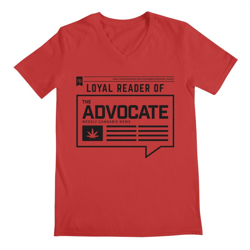The Advocate Men's Regular V-Neck by RevolutionTradingCo