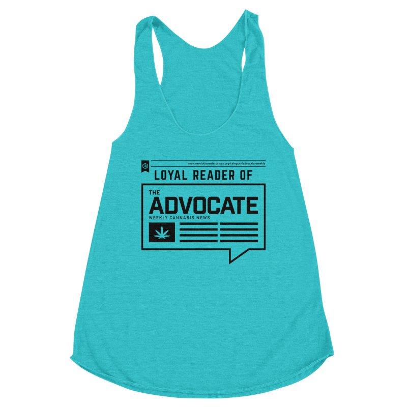 The Advocate Women's Racerback Triblend Tank by RevolutionTradingCo