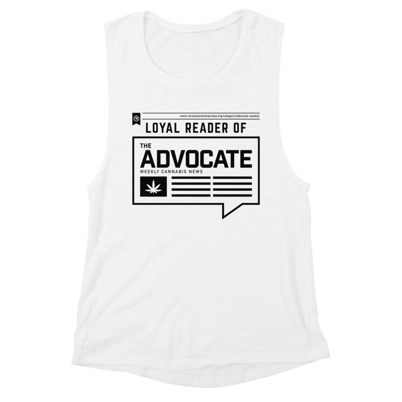 The Advocate Women's Muscle Tank by RevolutionTradingCo