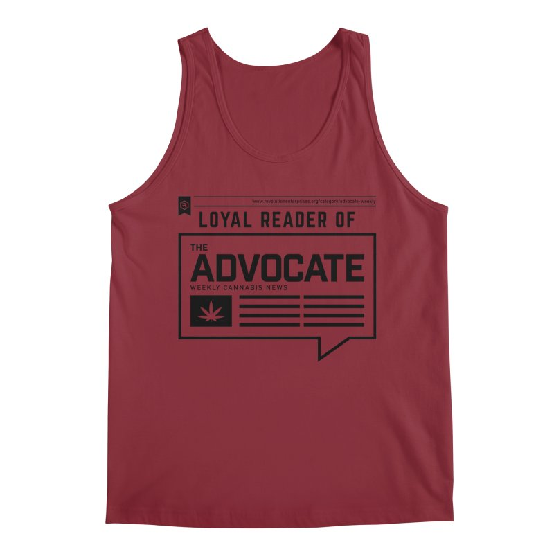 The Advocate Men's Regular Tank by RevolutionTradingCo