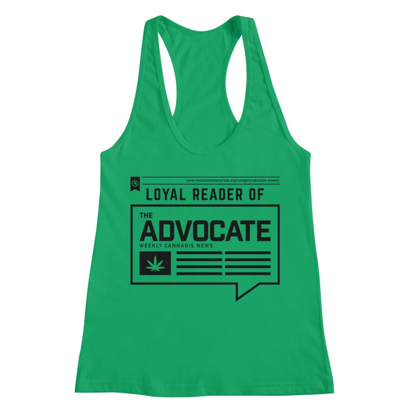 The Advocate Women's Tank by RevolutionTradingCo