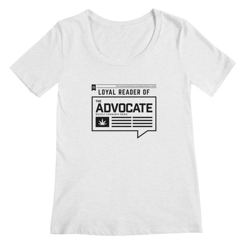 The Advocate Women's Scoop Neck by RevolutionTradingCo