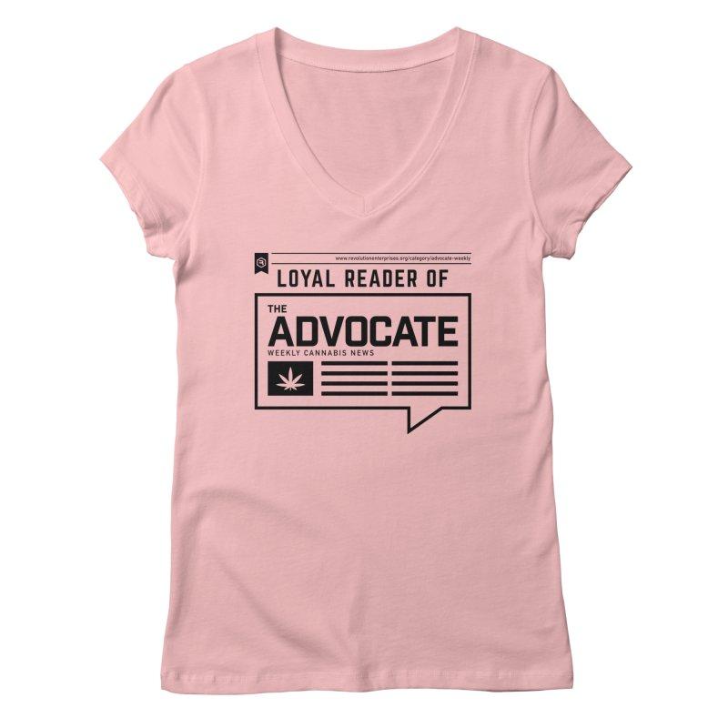 The Advocate Women's Regular V-Neck by RevolutionTradingCo