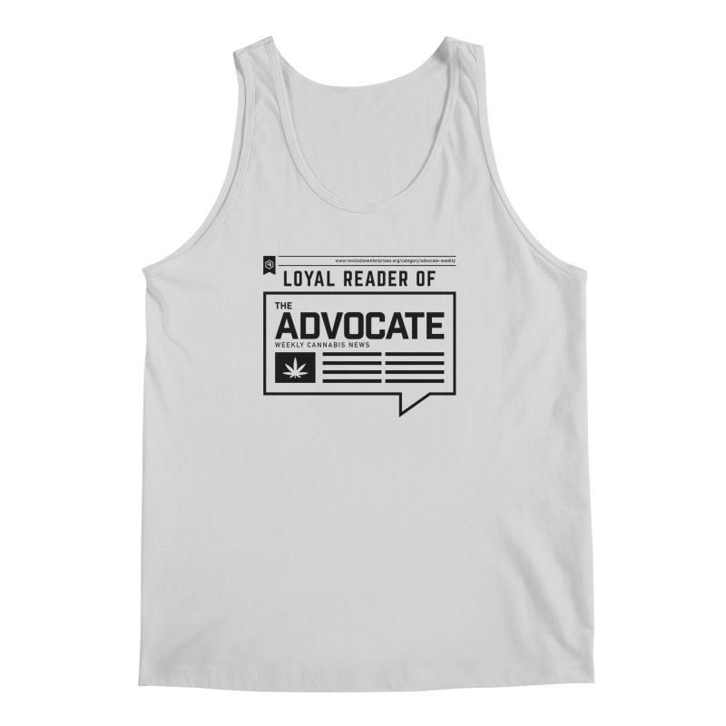 The Advocate in Men's Regular Tank Heather Grey by RevolutionTradingCo