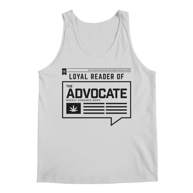 The Advocate Men's Regular Tank by RevolutionTradingCo