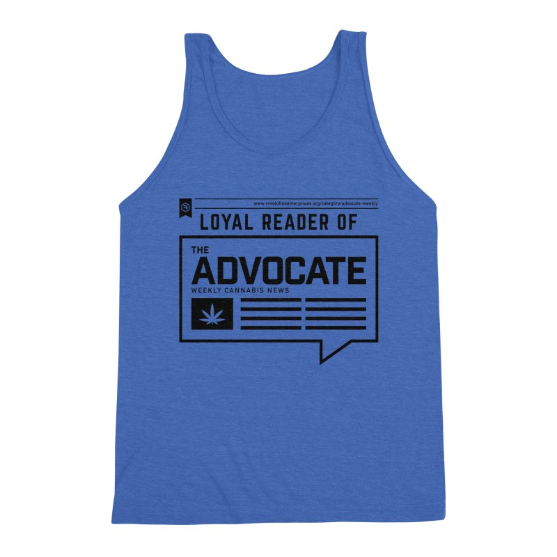 The Advocate Men's Triblend Tank by RevolutionTradingCo