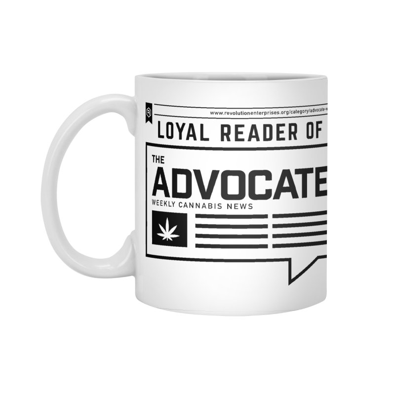 The Advocate Accessories Mug by RevolutionTradingCo