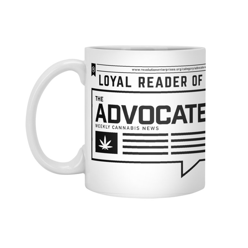 The Advocate Accessories Standard Mug by RevolutionTradingCo