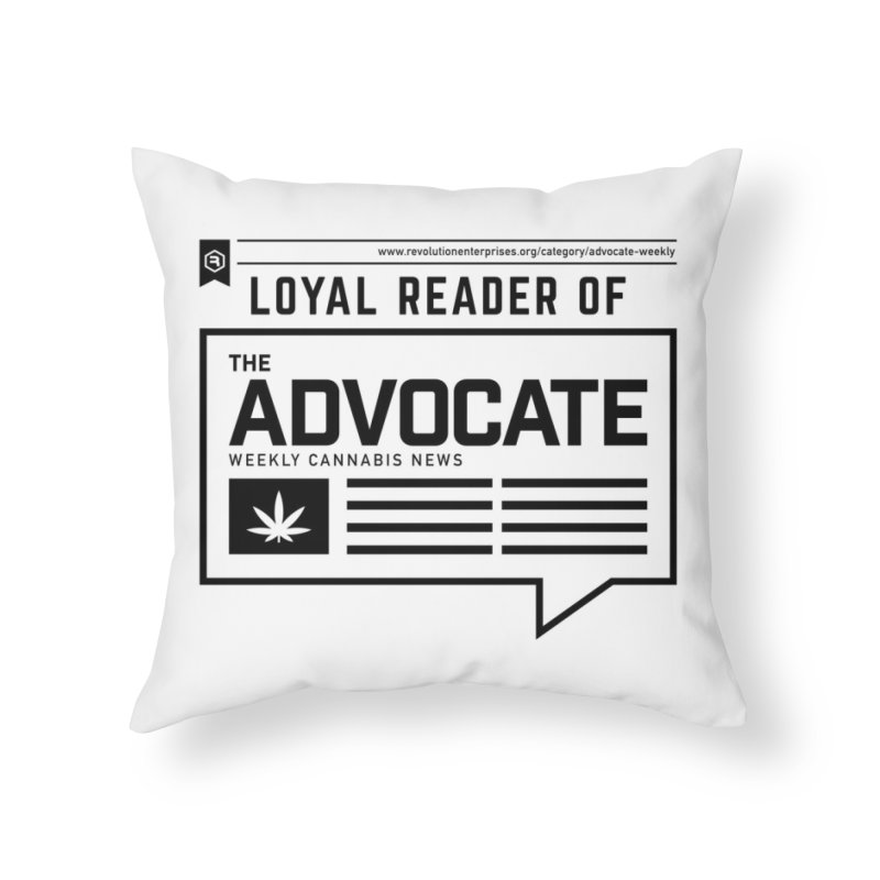 The Advocate Home Throw Pillow by RevolutionTradingCo