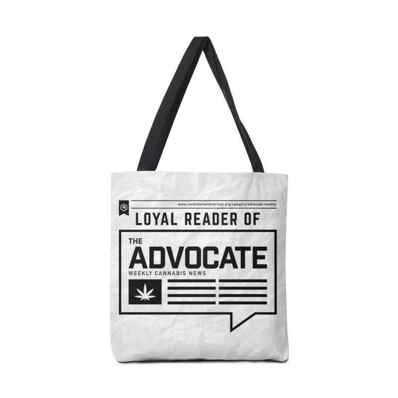 The Advocate Accessories Tote Bag Bag by RevolutionTradingCo