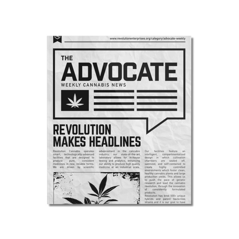 The Advocate Home Mounted Acrylic Print by RevolutionTradingCo