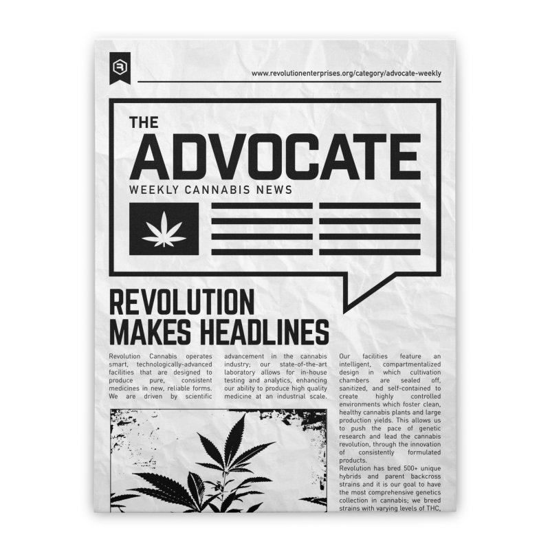 The Advocate Home Stretched Canvas by RevolutionTradingCo