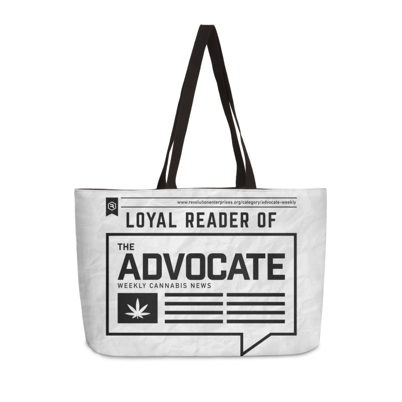 The Advocate Accessories Weekender Bag Bag by RevolutionTradingCo