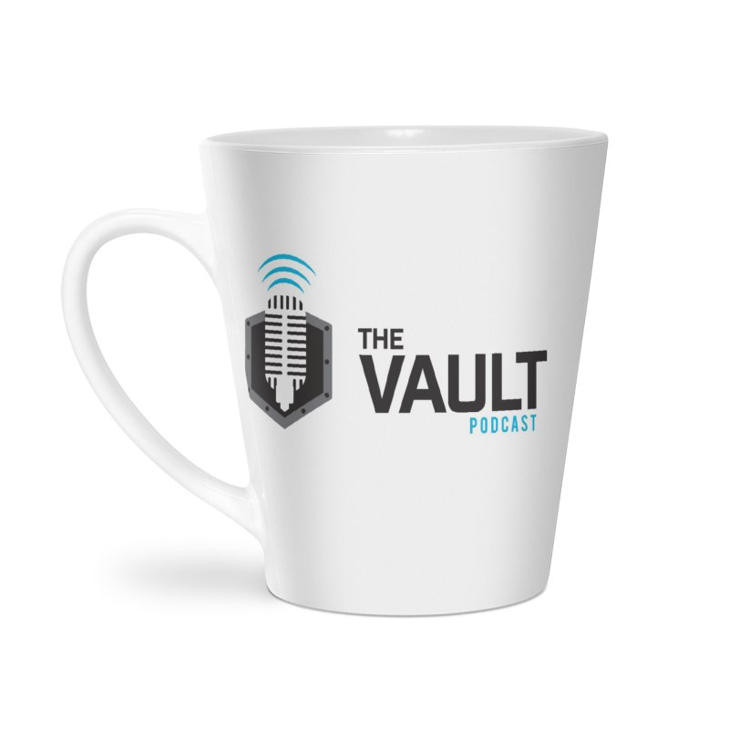 The Vault Podcast Accessories Latte Mug by RevolutionTradingCo