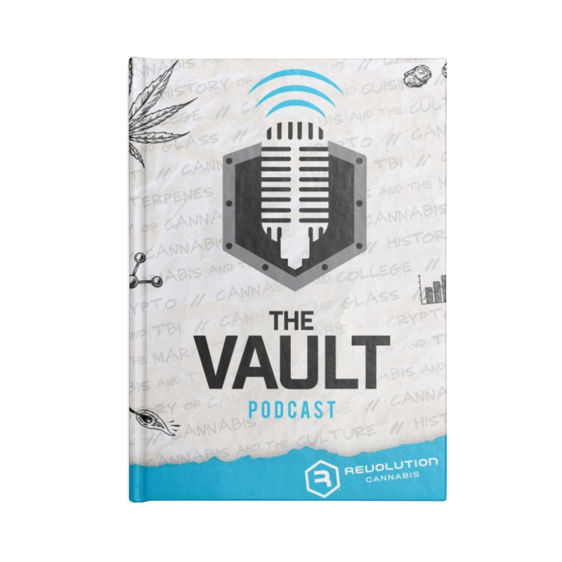 The Vault Podcast Accessories Lined Journal Notebook by RevolutionTradingCo