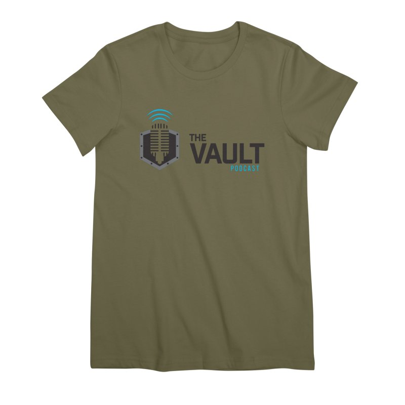The Vault Podcast Women's Premium T-Shirt by RevolutionTradingCo