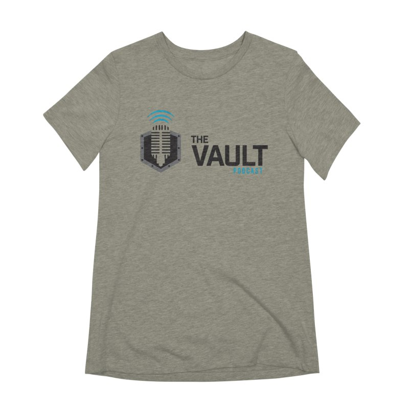 The Vault Podcast Women's Extra Soft T-Shirt by RevolutionTradingCo