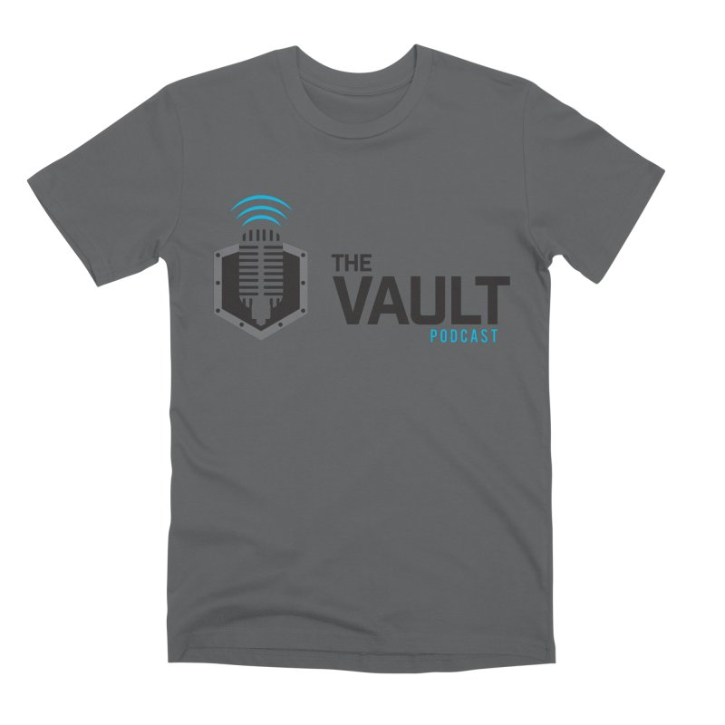 The Vault Podcast Men's Premium T-Shirt by RevolutionTradingCo