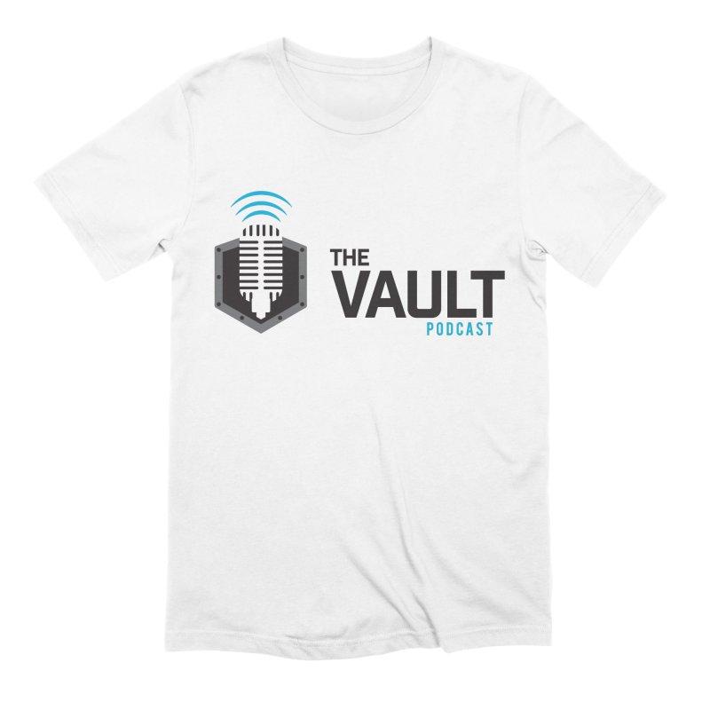 The Vault Podcast Men's Extra Soft T-Shirt by RevolutionTradingCo