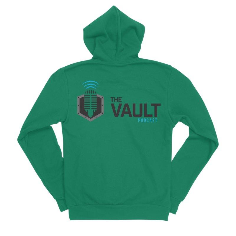 The Vault Podcast Men's Sponge Fleece Zip-Up Hoody by RevolutionTradingCo