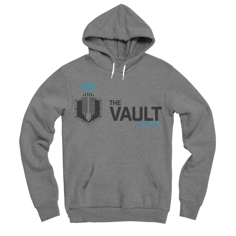 The Vault Podcast Men's Sponge Fleece Pullover Hoody by RevolutionTradingCo